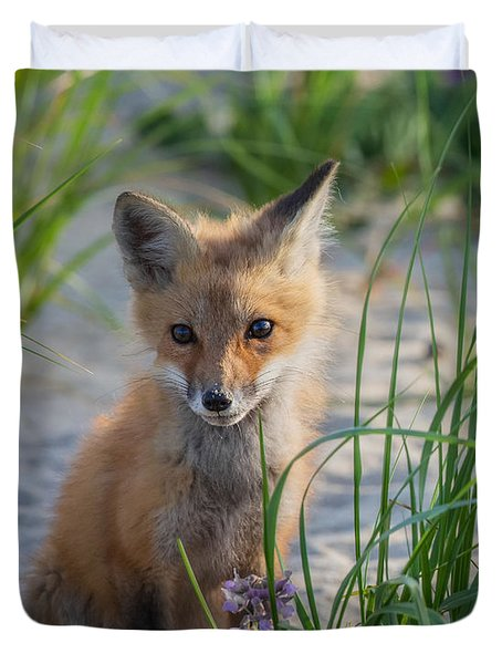 Fox Kit Duvet Cover