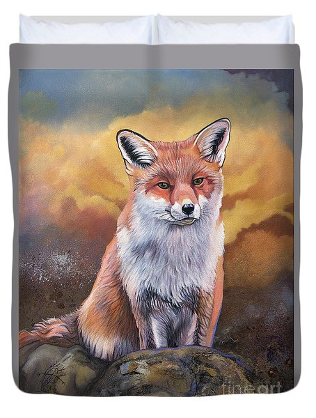 Fox Knows Duvet Cover