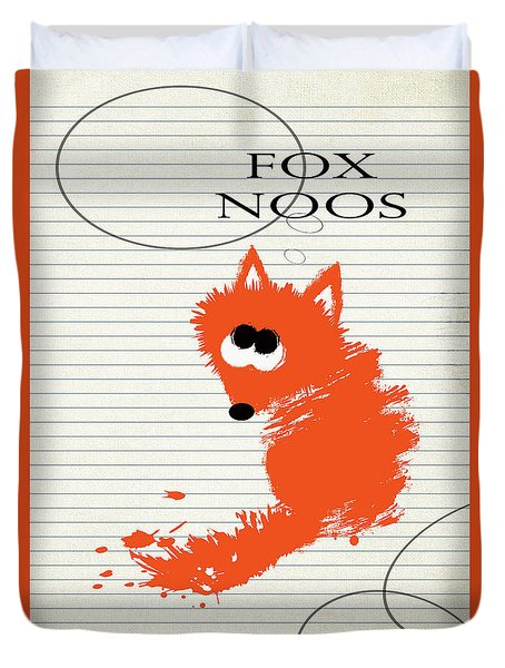 Fox Noos Duvet Cover