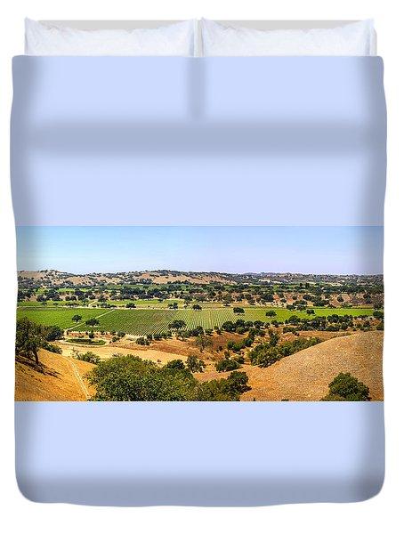 Foxen Canyon California Duvet Cover by Chris Smith