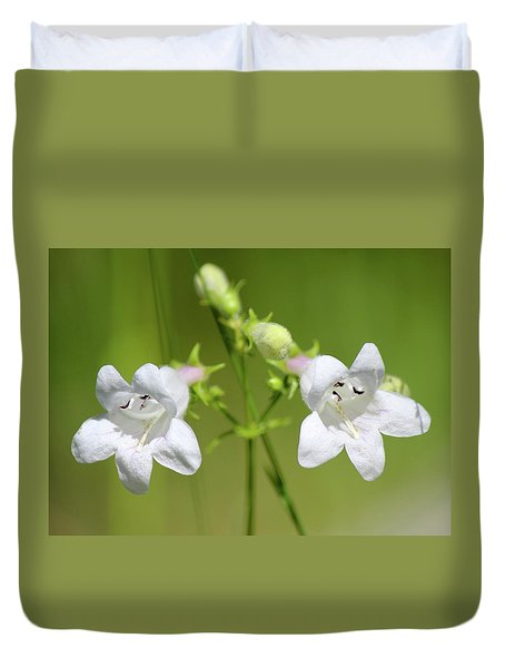 Foxglove Beardtongue Duvet Cover