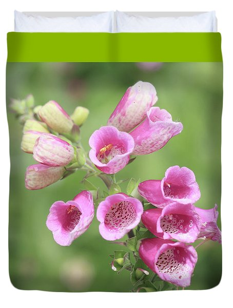 Foxgloves  Duvet Cover