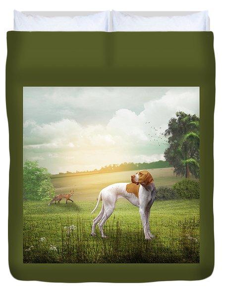 Foxhound Duvet Cover