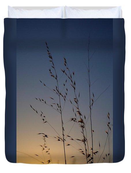 Foxtail Sunset Duvet Cover