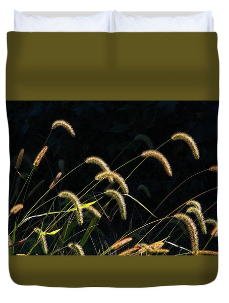 Foxtails Duvet Cover