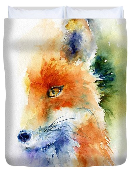 Foxy Impression Duvet Cover