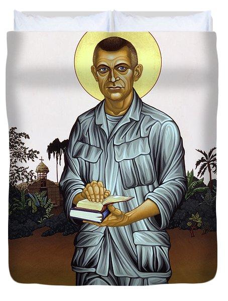 Fr. Vincent Capodanno, The Grunt Padre - Lwvcd     Duvet Cover