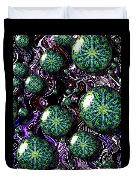 Fractal Abstract 7816.5 Duvet Cover