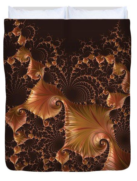 Fractal Alchemy Duvet Cover by Susan Maxwell Schmidt