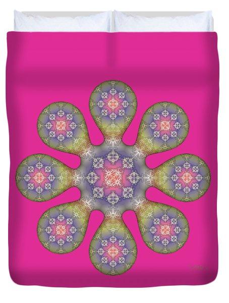 Fractal Blossom 1 Duvet Cover