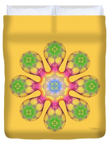 Fractal Blossom 3 Duvet Cover