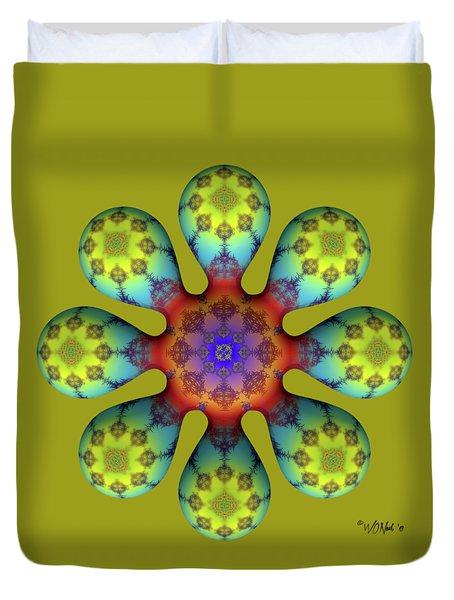 Fractal Blossom 4 Duvet Cover