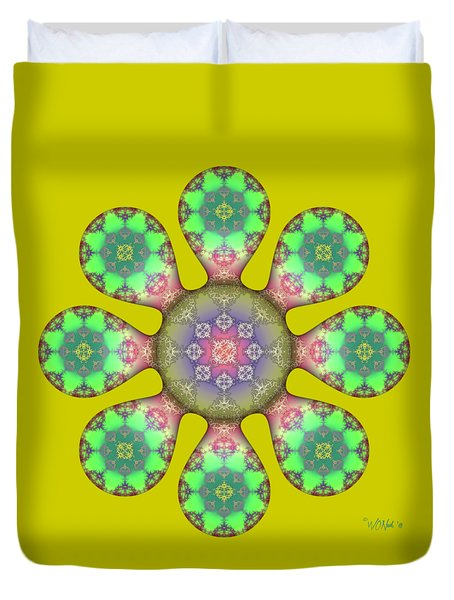 Fractal Blossom 5 Duvet Cover