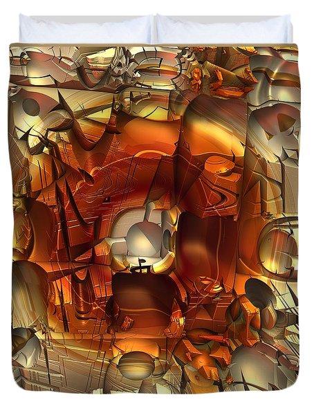 Fractal Within A Fractal Duvet Cover