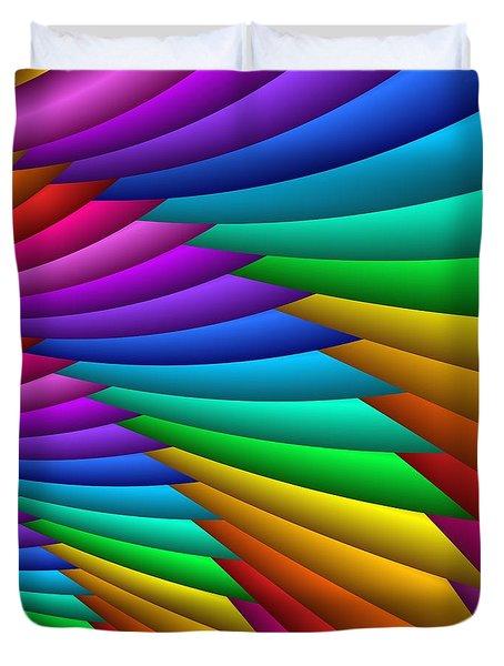 Fractalized Colors -8- Duvet Cover