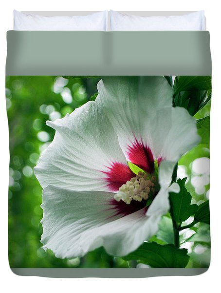 Fragile Beauty Duvet Cover