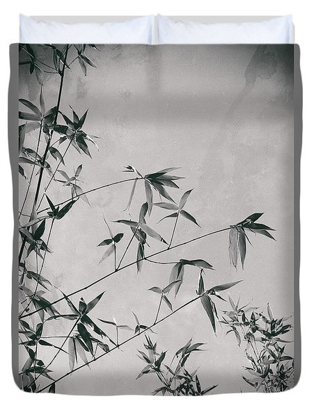 Duvet Cover featuring the photograph Fragility And Strength by Linda Lees