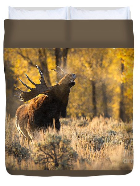 The Scent Duvet Cover