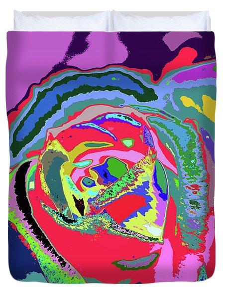 Fragrance Of Color  Duvet Cover