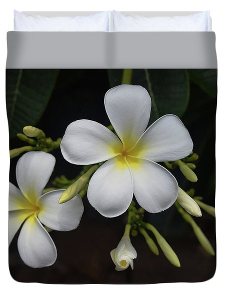 Duvet Cover featuring the photograph Fragrance Of Hawaii by Pamela Walton