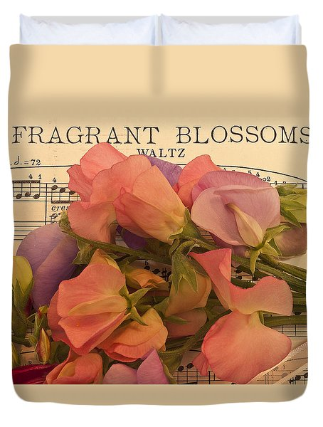Fragrant Blossoms Duvet Cover