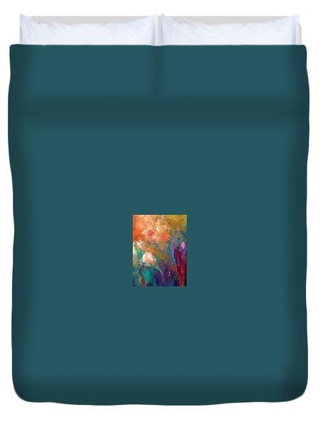Fragrant Breeze Duvet Cover