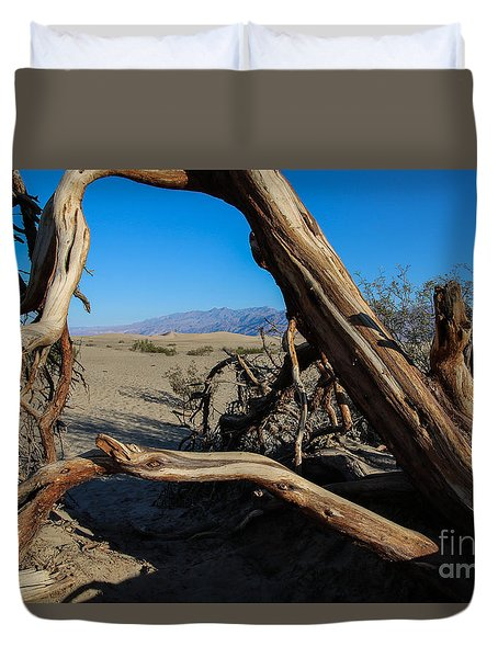 Framed Dunes Duvet Cover