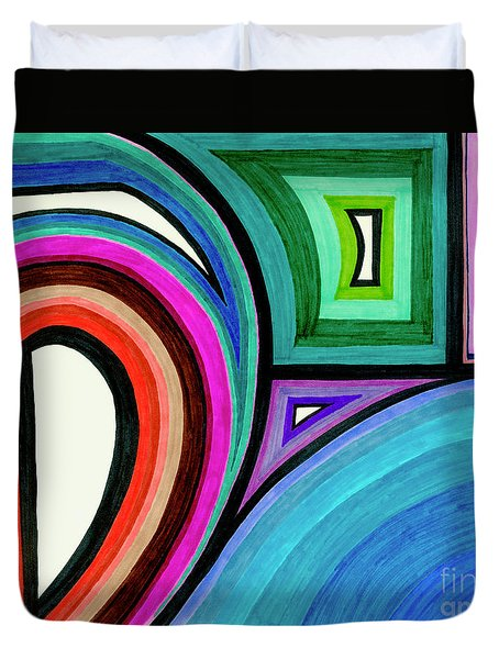 Framed Motion Duvet Cover