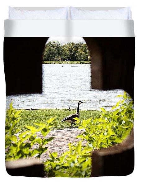 Framed Nature Duvet Cover