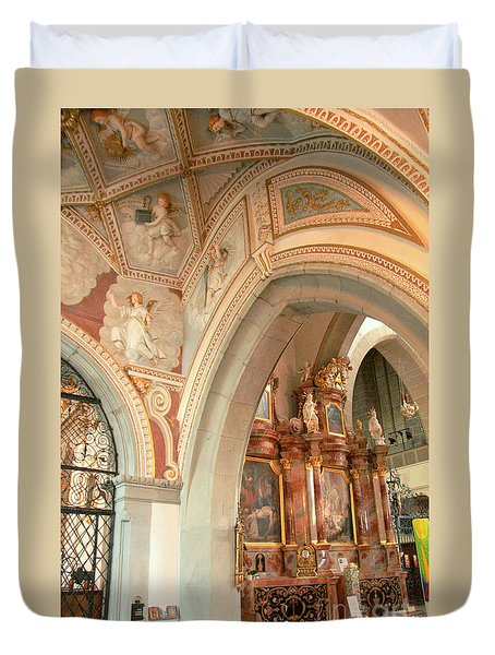 Franciscan Decor Duvet Cover