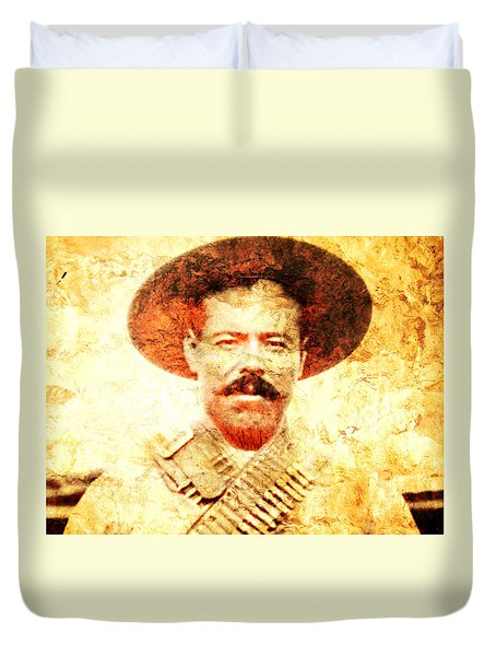 Francisco Villa Duvet Cover