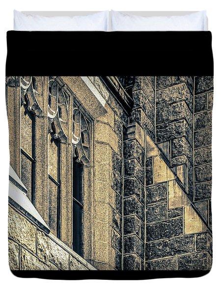 Franco Center Lewiston Maine Duvet Cover