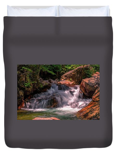 Franconia Notch 2 Duvet Cover by Sherman Perry