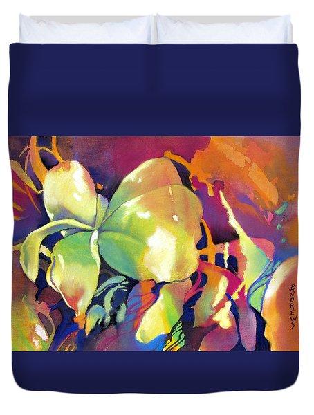 Frangipani Fantasy Duvet Cover