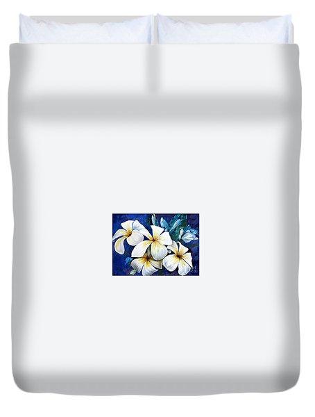 Frangipani Duvet Cover