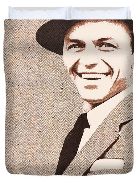 Frank In Tweed Duvet Cover