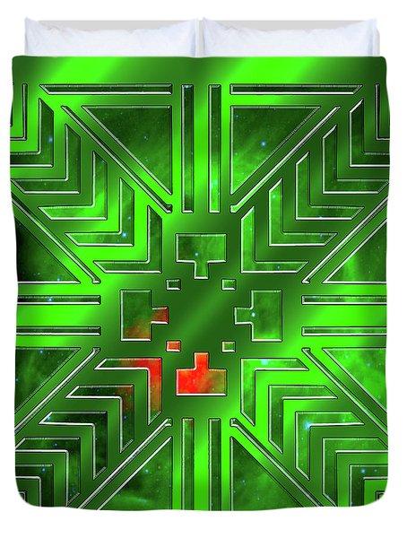 Frank Lloyd Wright Design Duvet Cover