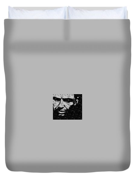 Frank Sinatra Duvet Cover by Emme Pons