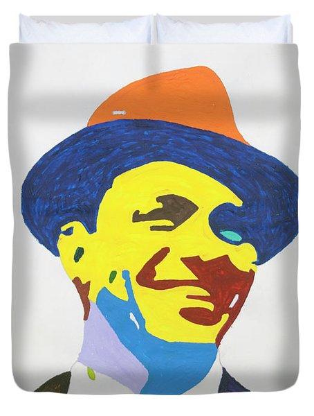 Frank Sinatra Smile Duvet Cover