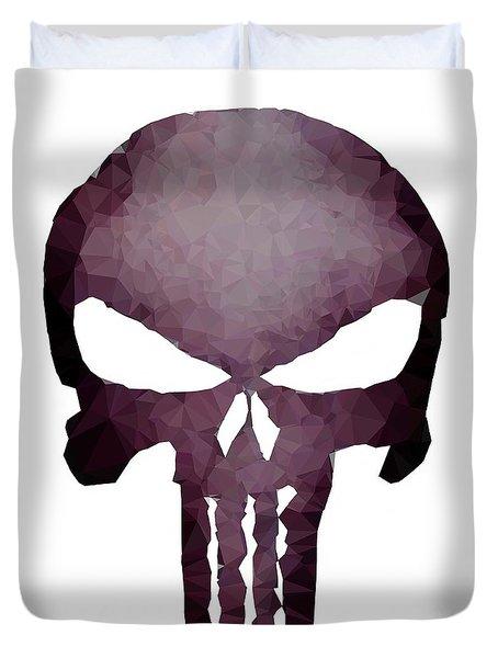 Frank Skull Duvet Cover