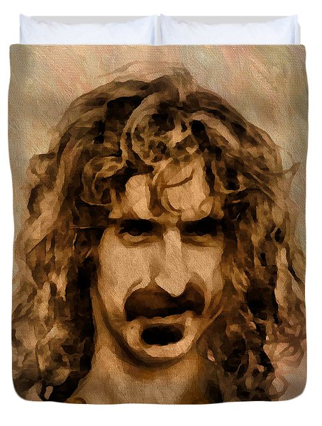 Frank Zappa Collection - 1 Duvet Cover