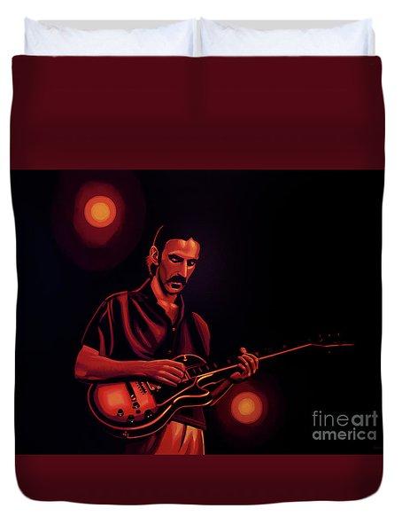 Frank Zappa 2 Duvet Cover by Paul Meijering
