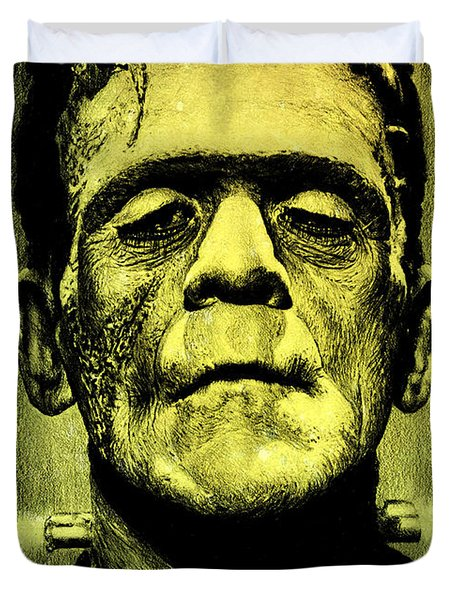 Frankenstein Green Glow Version Drawing By Andrew Read