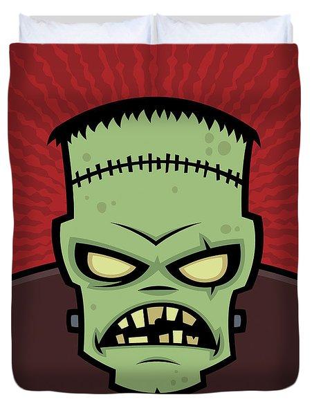 Frankenstein Monster Duvet Cover