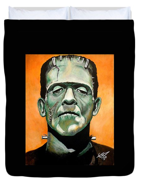 Frankenstein Duvet Cover