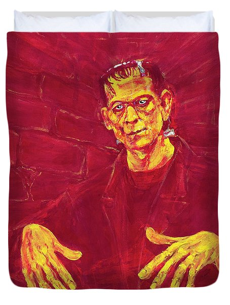 Frankenstein's Monster 1931 Duvet Cover