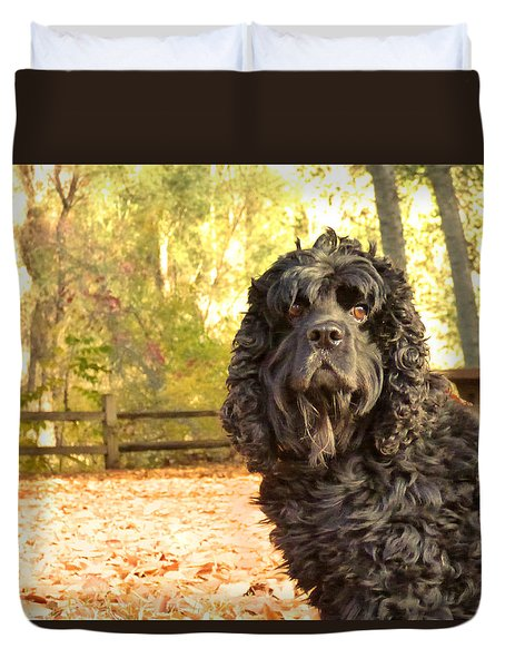 Frankie Duvet Cover by Pamela Patch