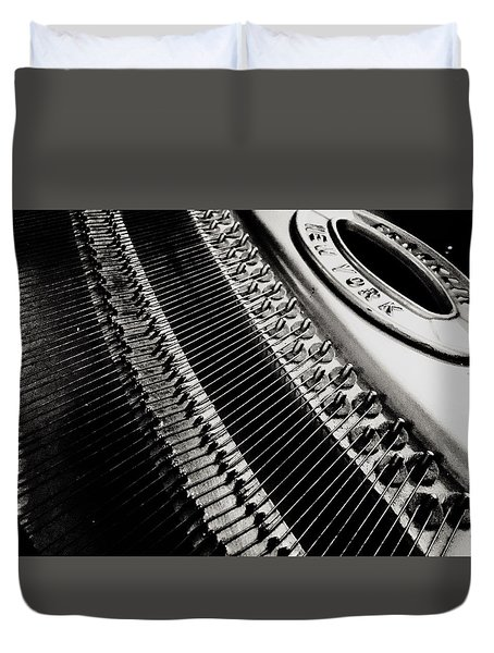 Franklin Piano Duvet Cover by Paul Wilford