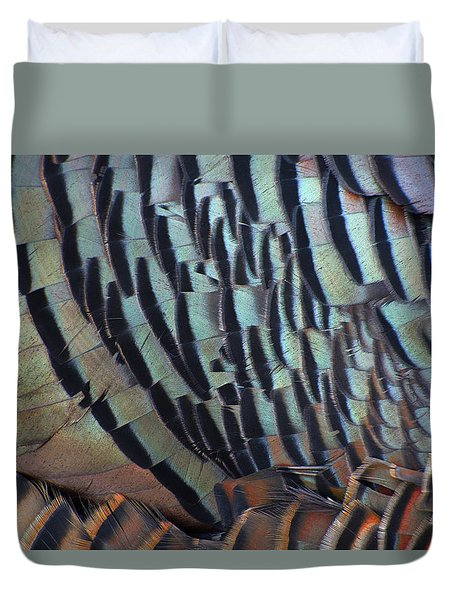 Duvet Cover featuring the photograph Franklin's Choice by Tony Beck