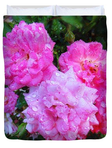 Frank's Roses Duvet Cover